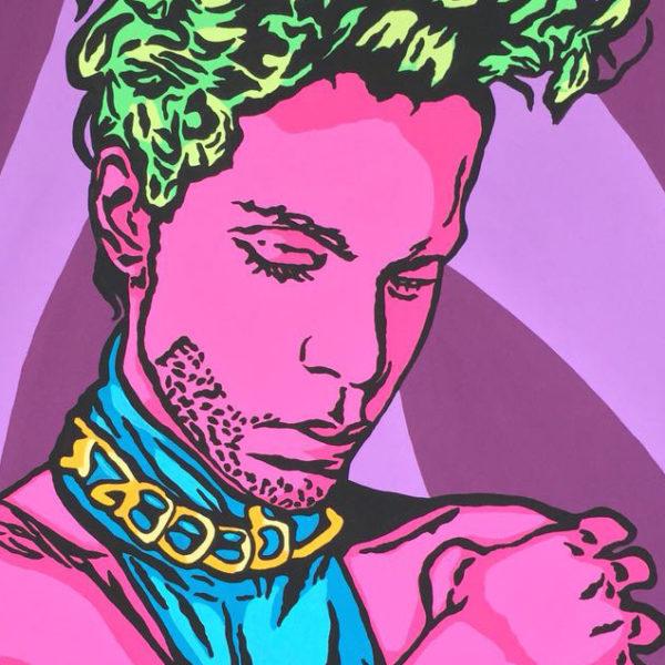 Ausschnitt von Just Prince von Alexander Ceply