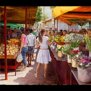 SOMMER – Markttag in Habana