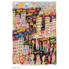 James Rizzi - In a trance of a colorful glance by chance