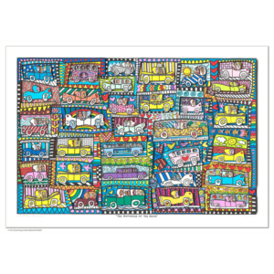 James Rizzi - The romance of the road